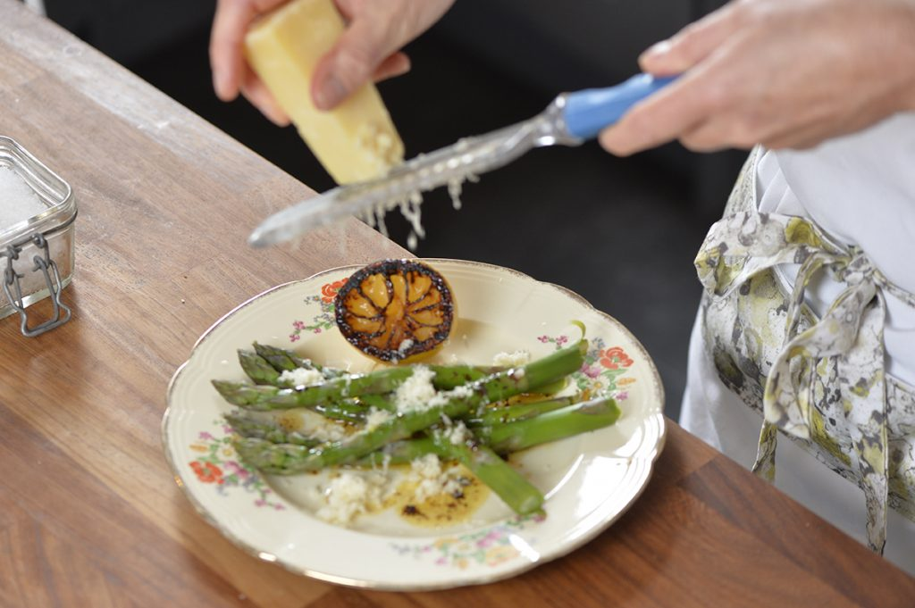 Jenny Haigh Scottish Field Asparagus and Lemon recipe